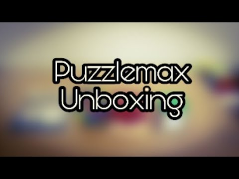 MASSIVE UNBOXING FROM PUZZLEMAX!