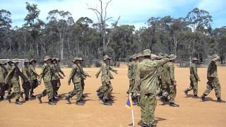 Christ Church Grammar School Cadet Unit annual camp parade
