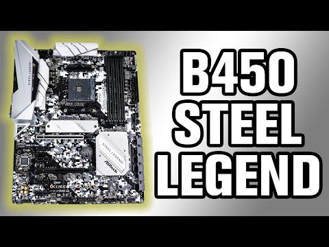 ASRock B450 Steel Legend Motherboard Review - ThinkComputers org
