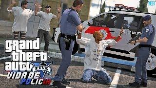 GTA V - Vida de Policia - Minha Vida por Um Fio | Ep.02