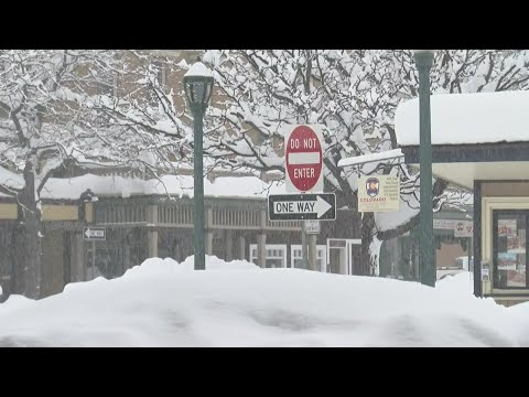 Durango receives 10 inches of snow overnight