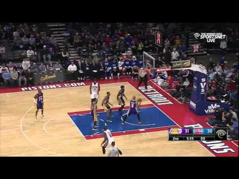 Caron Butler Highlights 12.2.2014 Pistons vs. Lakers