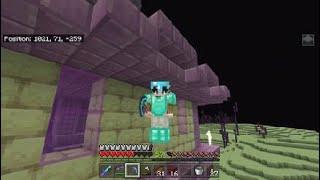 Minecraft Build Attack- Enderdragon kampf easy?