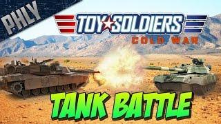 m1 abrams tank vs t 80 tanks battle toy soldiers cold war 3