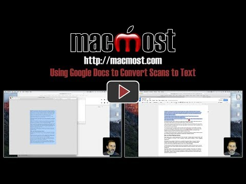 Using Google Docs To Convert Scans To Text (#1419)
