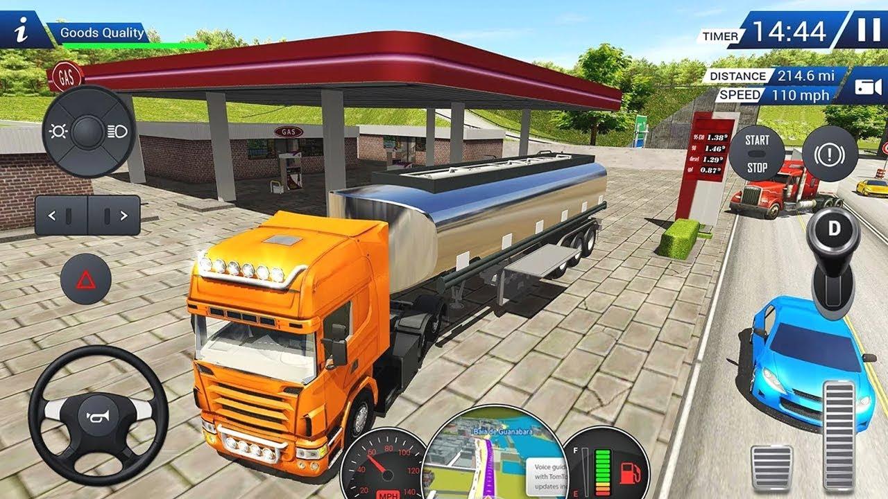 Euro Truck Driving Simulator 2018 (by Racing Games ...