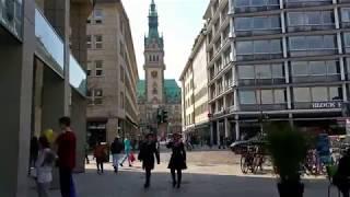 Гамбург и его достопримечательности/ Германия Julia Sonnenschein(Ратуша, озеро Альстер, ТЦ