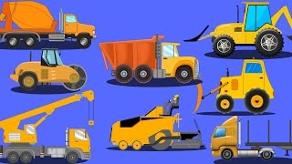 Construction Vehicles | Videos For KIds | kid...