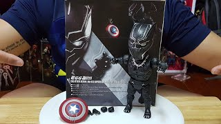 Toy Review : Black Panther🐱🐱 Egg Attack Bootleg(Civil War Collection) ของจีน🇨🇳แต่ฟิน😮และสวยมาก❤