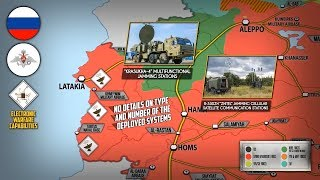 26 сентября 2018. Военная обстановка в Сирии. Россия перебрасывает в Сирию комплексы РЭБ и ЗРК С-300