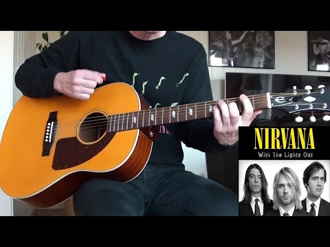 Nirvana - Serve The Servants Acoustic Demo (Guitar Cover) mp3