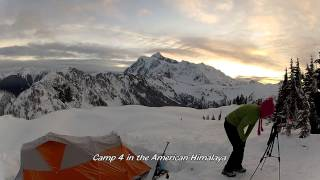 Winter Camping - North Cascades - Washington