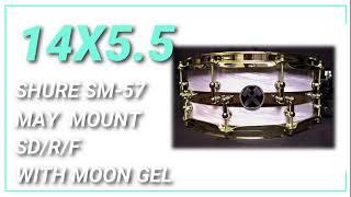 14x5 5 Hybrid Snare Drum HD Sound Sample