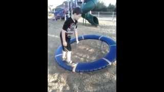 Hard Playground Landing