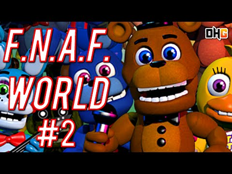 Let's Play: FNAF World (Part 2) - Exploring The Mysterious Mine!