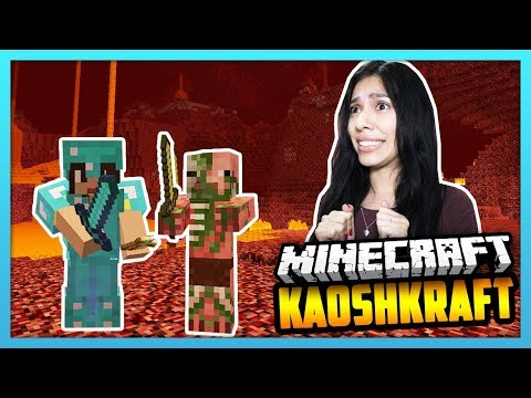 THIS WAS A BAD IDEA! DONT GO TO THE NETHER! - Minecraft Survival: KaoshKraft SMP 3 - EP 87