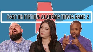 Alabama Trivia Game: Fact or Fiction Vol 2. | This is Alabama