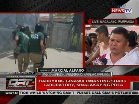 QRT: Babuyang ginawa umanong shabu laboratory, sinalakay ng PDEA