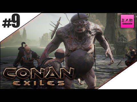 #9【生放送】Conan Exiles(コナン エグザイル)【三人称+2】