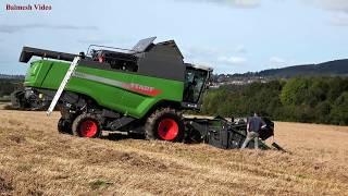 NEW Fendt Combine Helps Disaster Harvest!