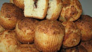 Как приготовить творожные кексы с шоколадом и карамелью(Как приготовить? || творожные кексы с начинкой Простые в приготовлении, но очень вкусные творожные кексы..., 2015-07-03T13:10:43.000Z)