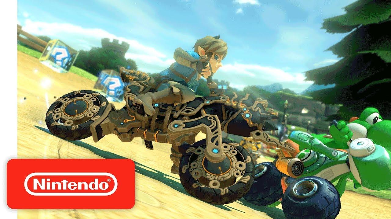 Mario Kart  Deluxe Breath Of The Wild Update Nintendo Switch