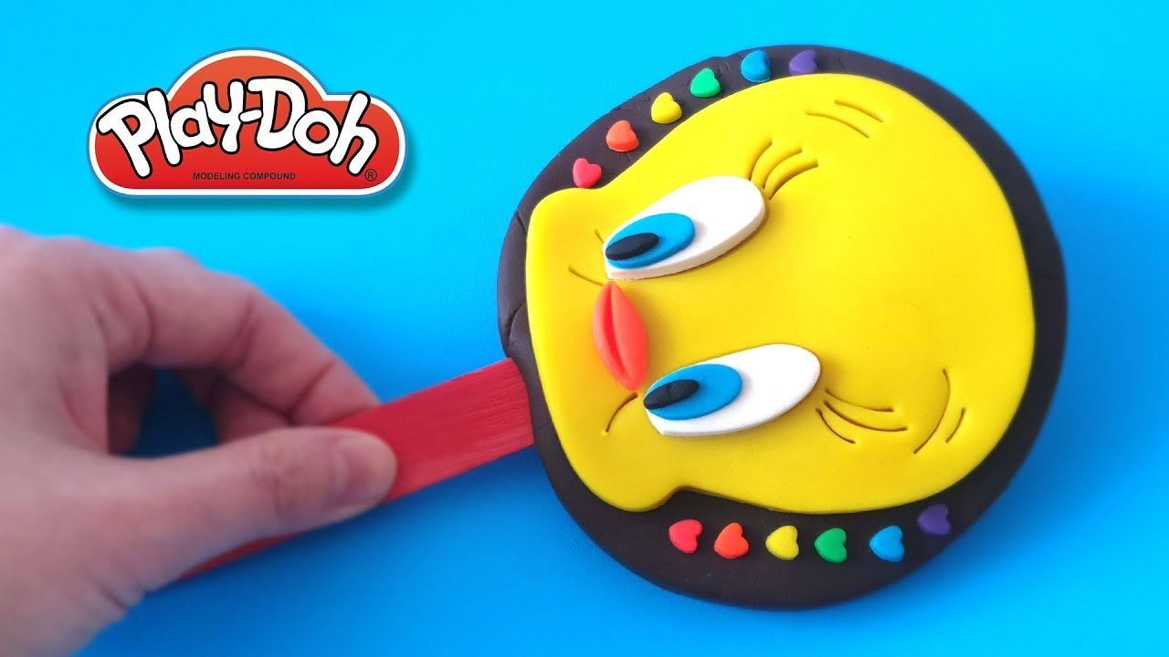 Download How to make DIY Tweety Bird with Play-Doh - CLAY ART TV