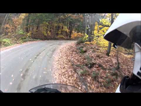 Dual Sport Ride in Southern Vermont in HD