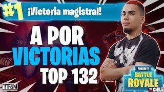 A POR VICTORIAS *EN SOLITARIO* +250 WINS TOP #132 FORTNITE CHILE!! @CAOZYT