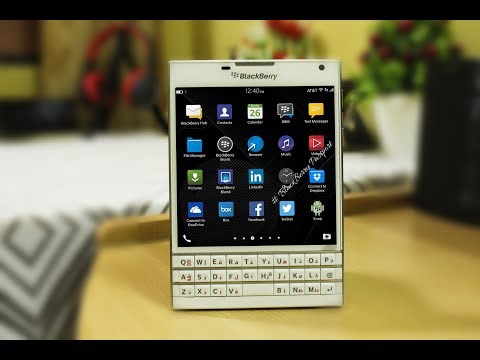 Unboxing Blackberry Passport In 2018 - Still Worth Buying ??