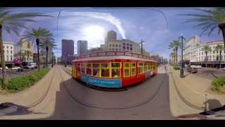 Canal Street, New Orleans (360 video)