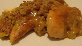 Betty's Flavorful Chicken and Dressing Casserole