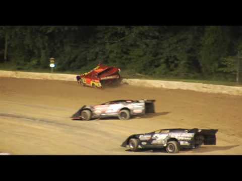 Ocala Speedway l late model wreck