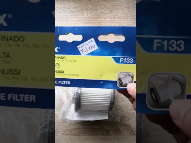 Electrolux porszívó mosható hepa filter F133, PORFIL110