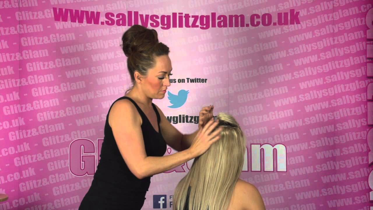 Sallys Glitz Glam Beauty Works Human Hair Remy Quad Weft Youtube