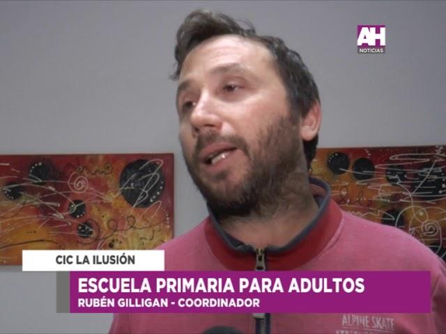 07 RUBEN GILLIGAN   ESCUELA PRIMARIA DE ADULTOS   CIC LA ILUSION