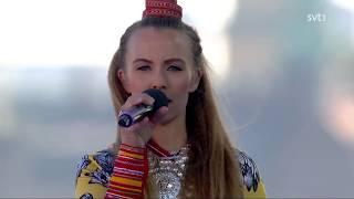 Sofia Jannok - Cudit & Det Här Är Ditt Land (Live Nationaldagen 2017, Skansen)