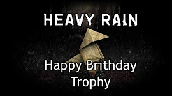 Heavy Rain - Trophy Guide