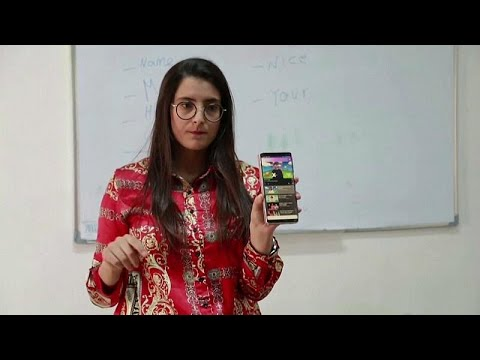 شاهد: تونسية تصمم تطبيقاً يساعد الصم والبكم على تعلم اللغة الإنجليزية…  - 14:00-2019 / 11 / 16