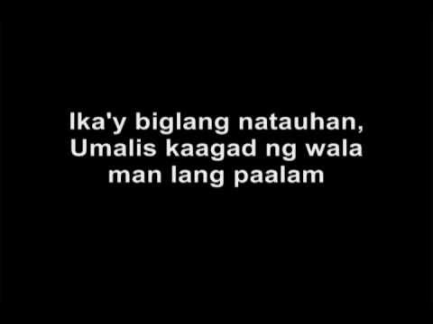 Kamikazee-Halik (lyrics)