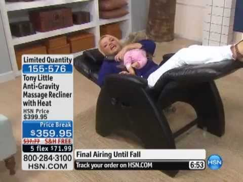 Tony Little AntiGravity Massage Recliner with Heat  YouTube