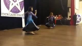 Surya Cruz & Kiara Yunet | Dança Kawleeya | Mercado Místico 2018