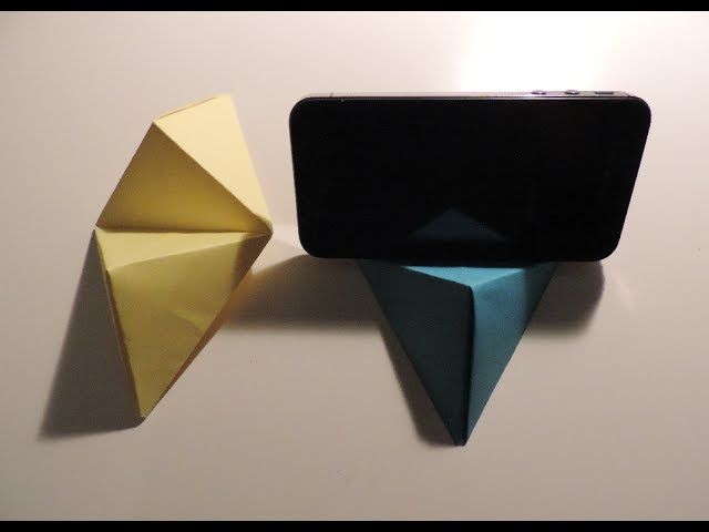 Origami Cell Phone Business Card