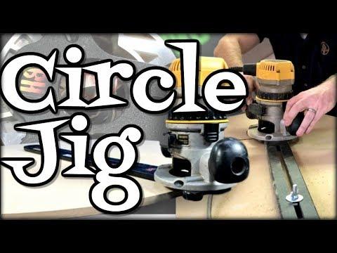 Circle Cutter Jig