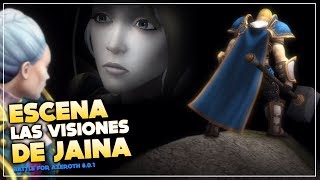 Escena cinemática Las Visiones de Jaina | Battle for Azeroth