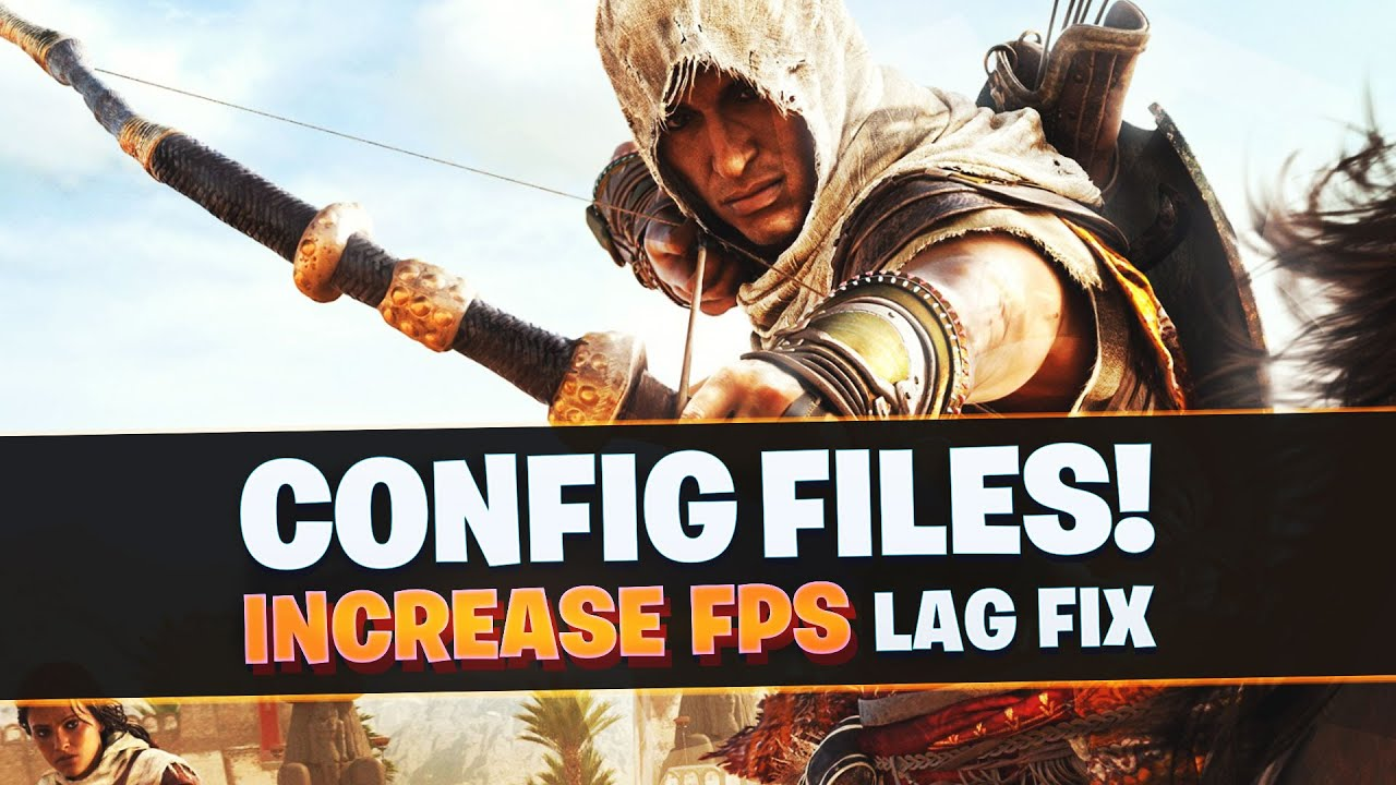 Assassin's Creed Origins Low End PC's Config files