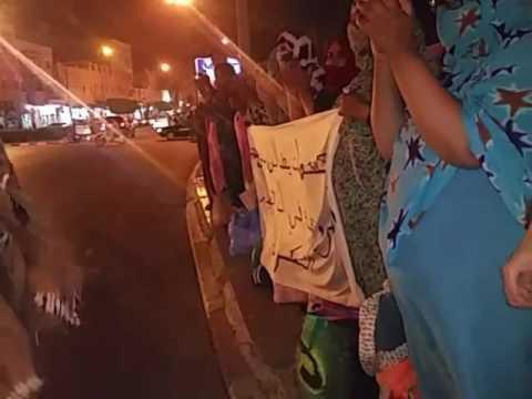 إحتجاجات ضد التهميش والحكرة والإغتيال الذي تعرض له الشهيد صيكا براهيم