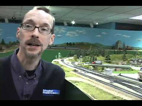 Modelling Railway Train Track Plans -Operating Model Railroader magazine's Bay Junction HO scale project layout with DCC