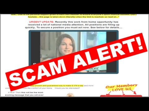 How to Spot a Work-at-Home Scam | ScamBusters Guide to Make Money Without Getting Scammed