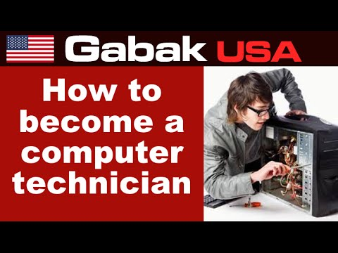 How to become a computer technician - 1 of 50 classes online
